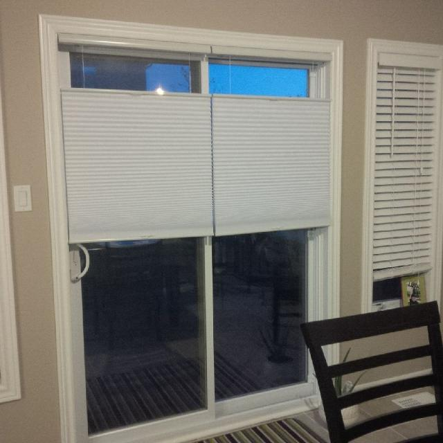 levolor cellular blinds for patio door pic 1 of 3 - Levolor Cellular Shades