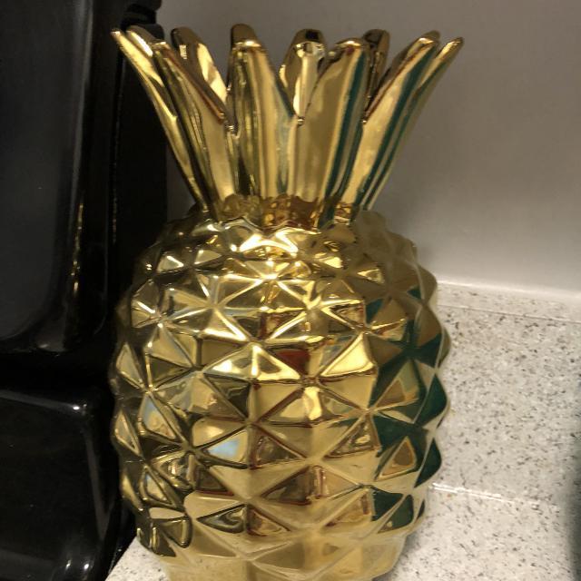 Best Gold Pineapple Vase For Sale In Overland Park Kansas For 2018