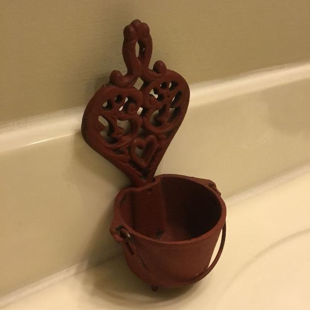 Best Vintage Canada Forge Miniature Cast Iron Kettle Pot Cauldron