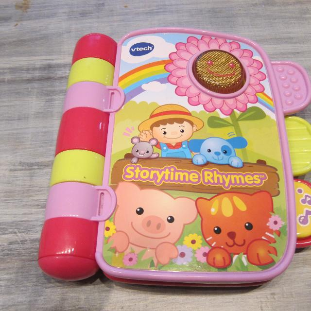 Find More Euc Vtech Storytime Rhymes Interactive Book For Sale At Up