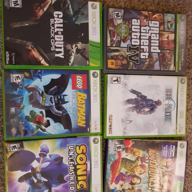 Xbox 360 s 4gb best condition games + kinect