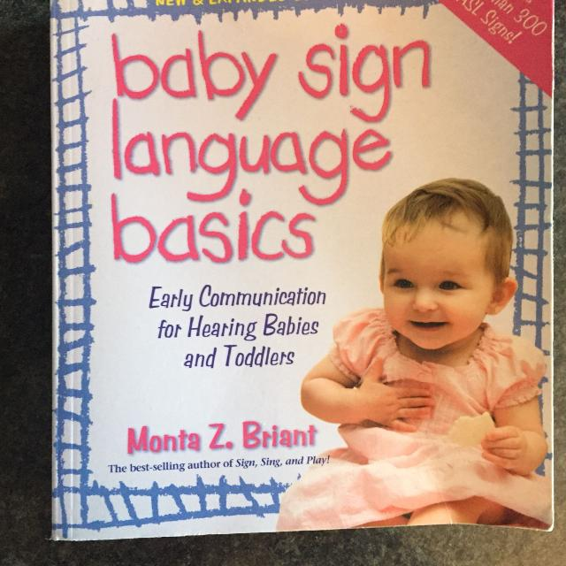 Find More Baby Sign Language Book For Sale At Up To 90 Off