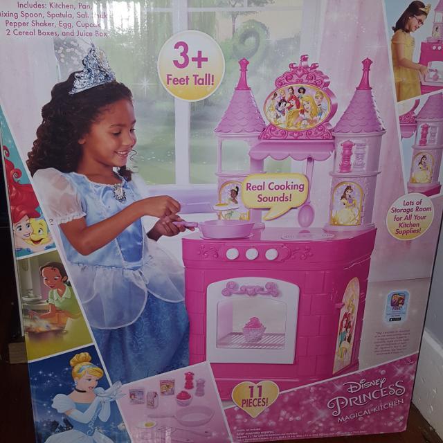 Disney Princess Magical Sounds Play Kitchen