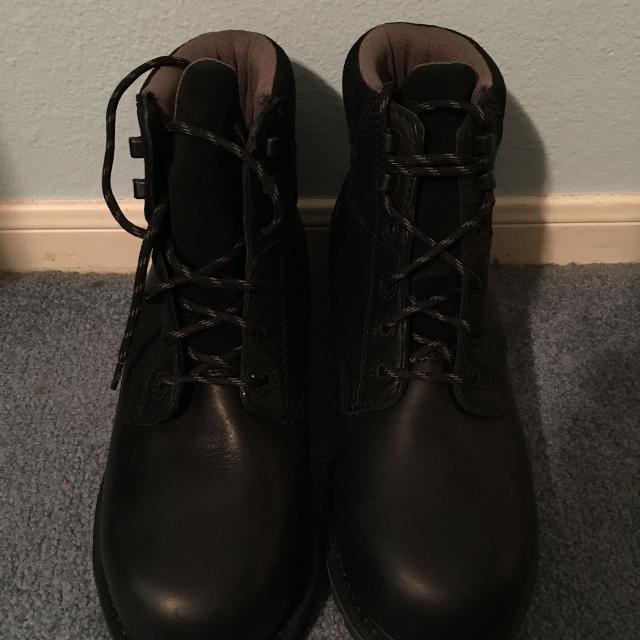 f9ef51c3508 Never Worn Black Hytest Footrests Steel Toe Boots