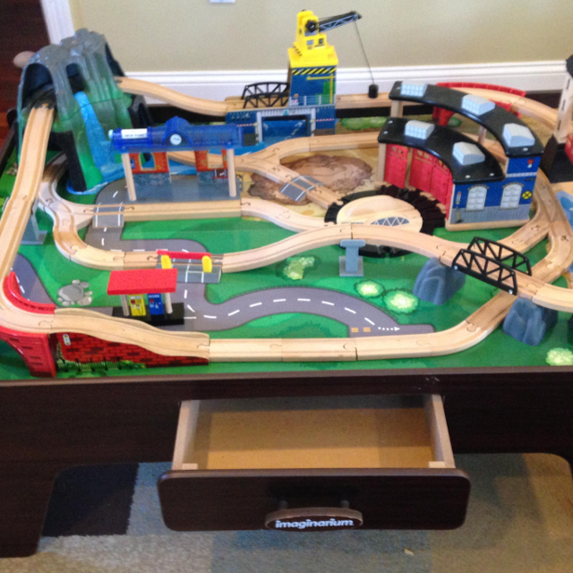 Find More 350 Valueimaginarium Mountain Rock Train Table 2 Play