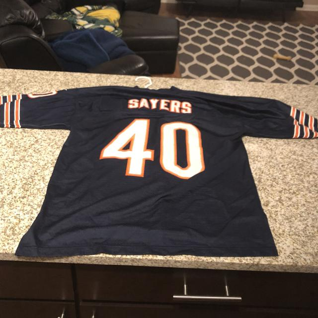 hot sale online 90278 5731a Stitched Gale Sayers Jersey