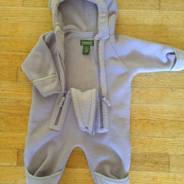 42521daea Find more Ll Bean Lavender Infant Bunting winter Coveralls for sale ...