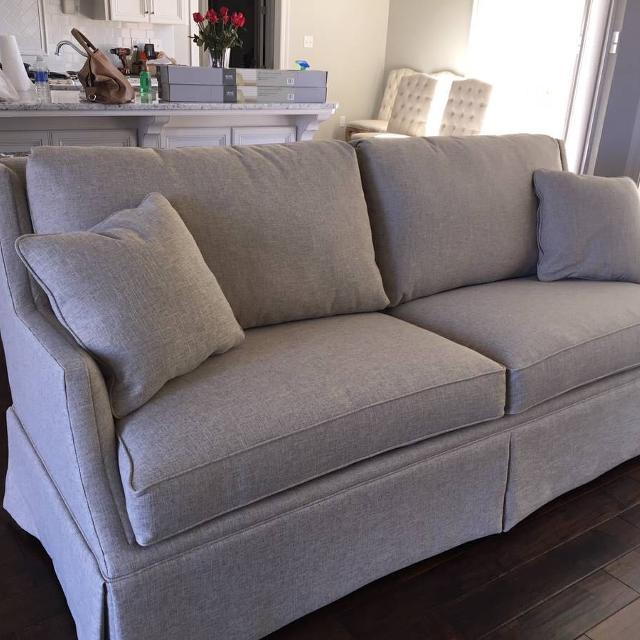 Best Fairfield Sofa Linen Crypton