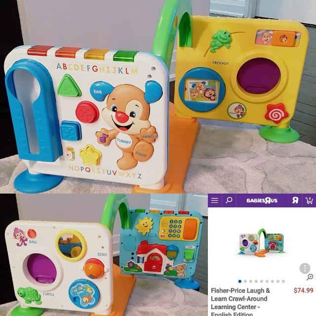 b31eb72e2 Best Nwob New Fisher Price Laugh   Learn Crawl Around Learning Center for  sale in Markham
