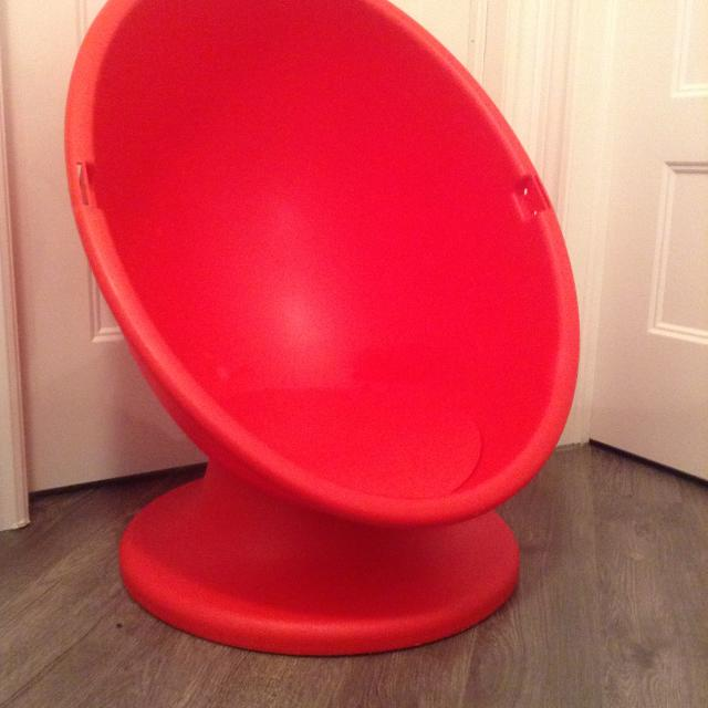 Find More Kids Ikea Swivel Egg Chair Price Negotiable Must Go Asap