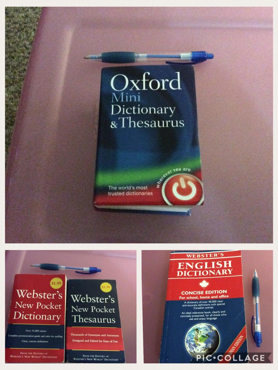 Find more Dictionary's & Thesaurus - Mini , Pocket & Concise