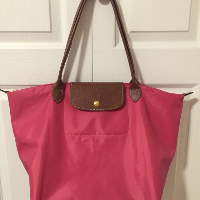 6bae3ae461e0 Best Euc Longchamps Le Pliage Large Tote Colour  Peony for sale in Richmond