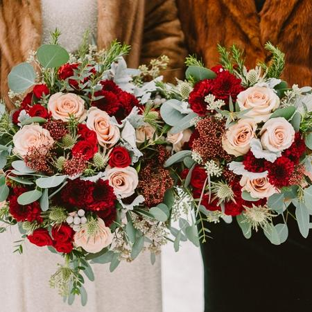Fresh flower bridal bouquets, used for sale  Canada