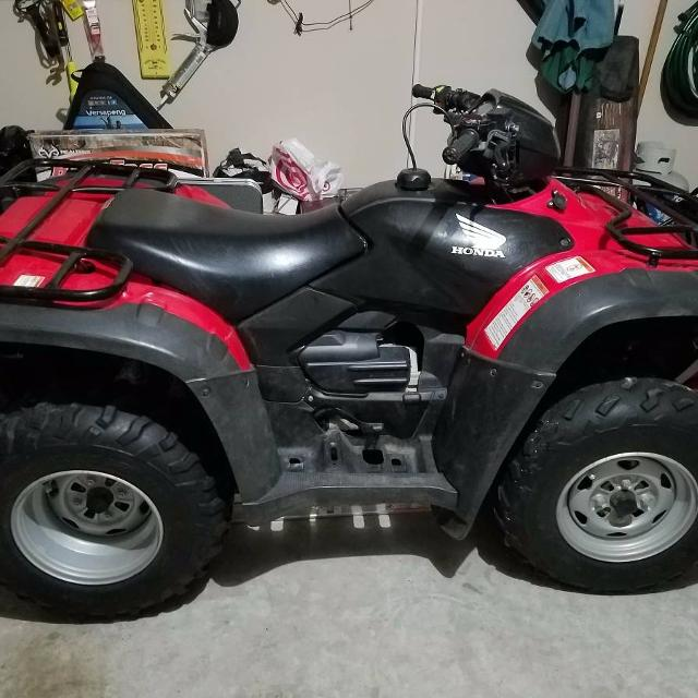 2009 HONDA TRX500FM9 FOREMAN 4X4 WITH WINCH AND POWER STEERING