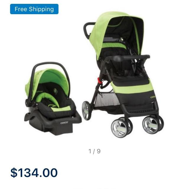 Cosco Car Seat And Stroller Travel