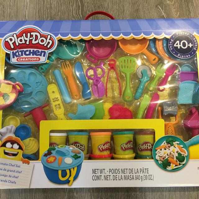play doh kitchen creations ultimate chef set - Kitchen Creations