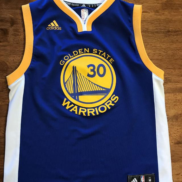 separation shoes 1b0d1 3048f Stephen Curry adidas Jersey size M
