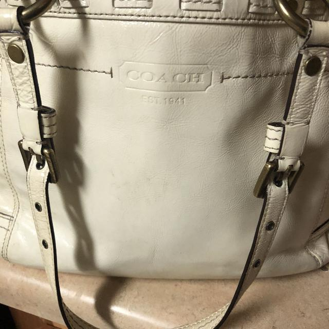 15c0116630ed Best Cream Colored Coach Purse!! Please See All Pics! for sale in  Germantown