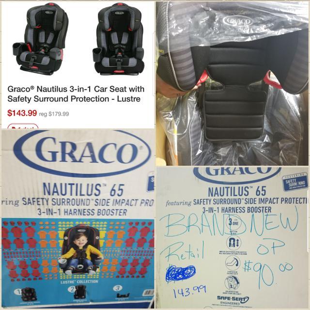 Graco Nautilus 65 3 In 1 Booster Seat