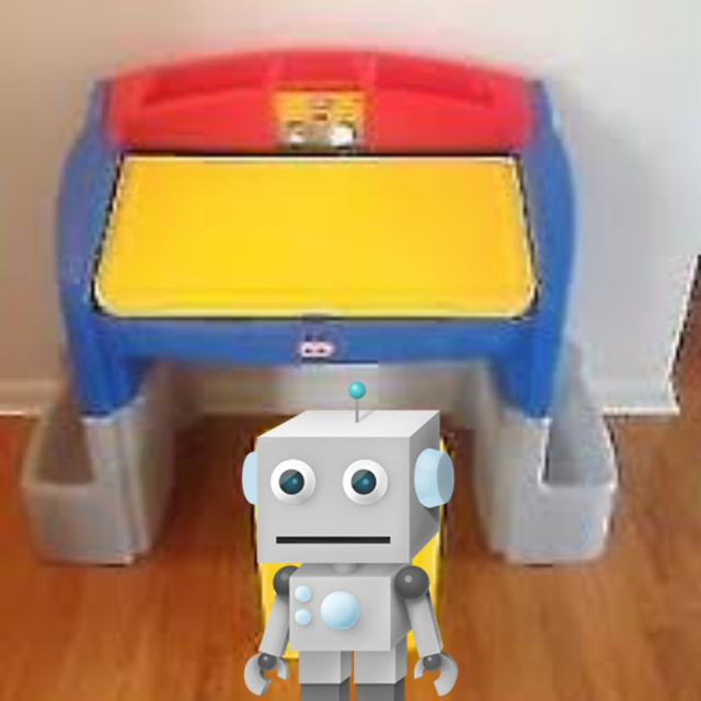 Little Tikes Hideaway Art Desk 35