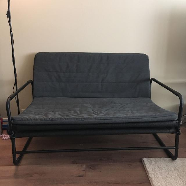 Best ikea hammarn fold out couch for sale in calgary for Fold out sofa bed for sale
