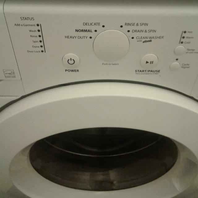 Whirlpool front load 7 2 cu ft (as is)