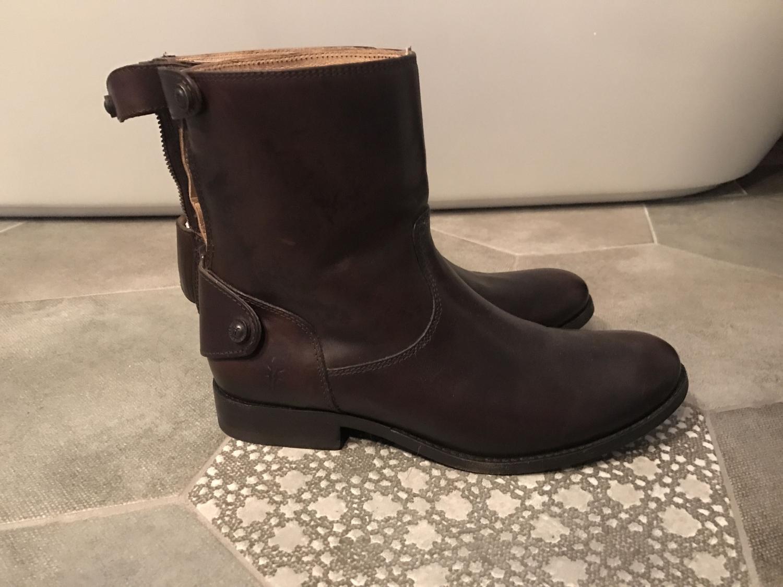 1d4bdc0feaf Best Womens Frye Melissa Button Short Boots for sale in Clarington ...
