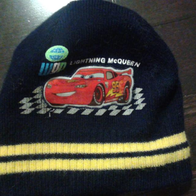 3e40efdbf6d Find more Disney Pixar Cars Winter Hat 2-5x In Excellent Condition ...