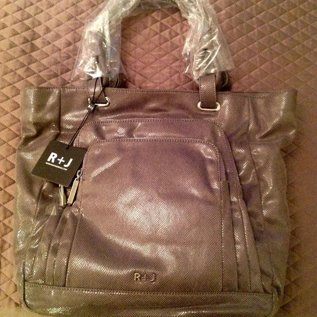 Nwt R J Handbags By Romeo Juliet Couture Tote
