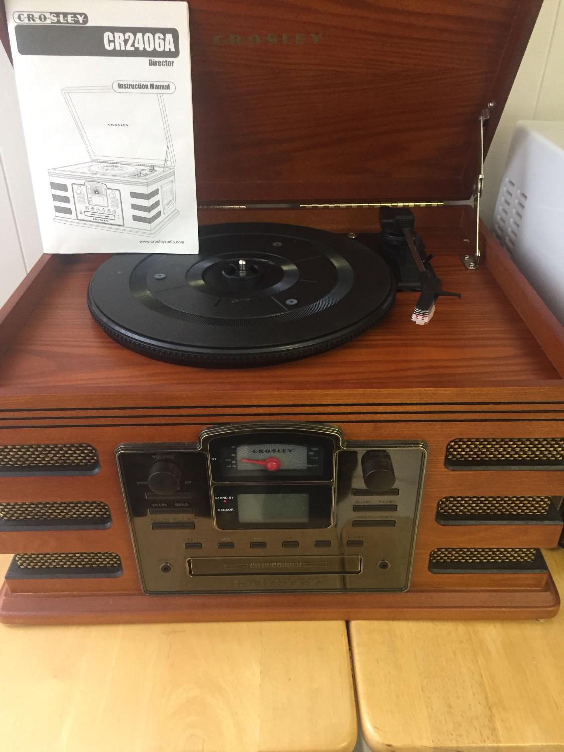 Find More Crosley Amfm Cassette Cd Player Record Player And