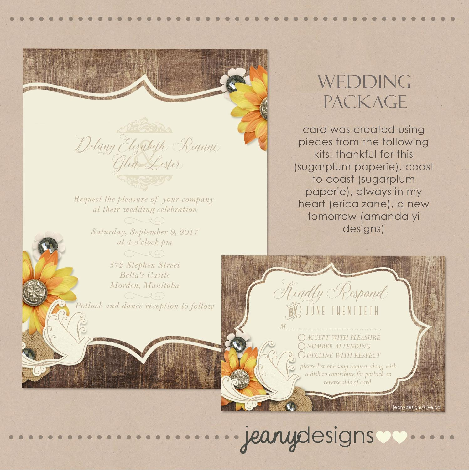 Best Wedding Invitations for sale in Winkler, Manitoba for 2018