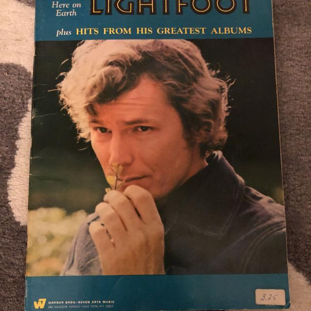 Find More Gordon Lightfoot Pianochords Guitar And Lyric Book For