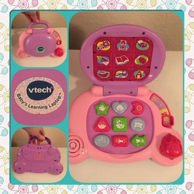 Best Vtech Baby's Learning Laptop, Pink - Guc for sale in ...
