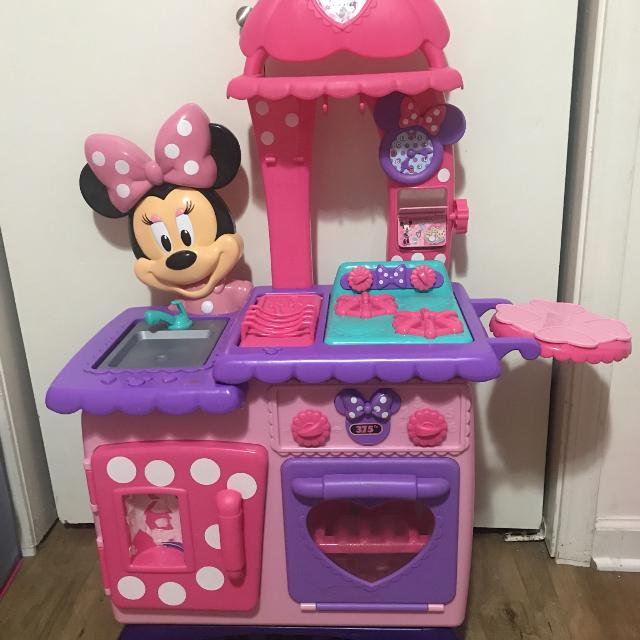 Minnie Mouse Play Kitchen: Find More Minnie Mouse Play Kitchen For Sale At Up To 90% Off