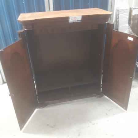 Used, SOLID OAK WOOD TV CABINET . for sale  Canada