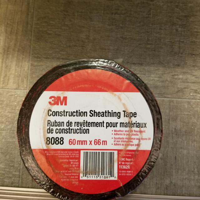 3M Construction Sheathing Tape