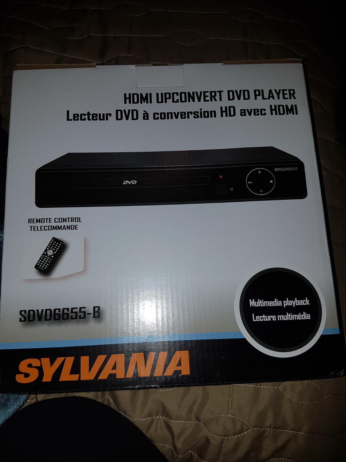 Find more Sylvania Dvd Player New In Box for sale at up to 90% off