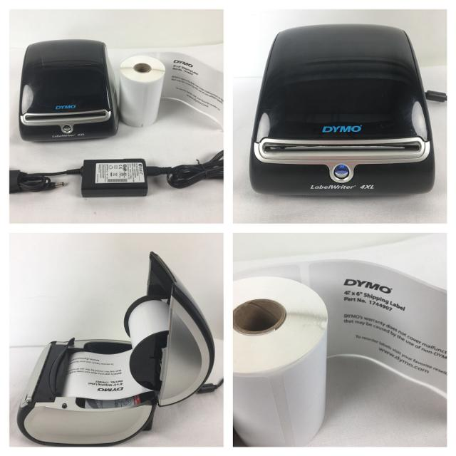DYMO LabelWriter 4XL Model 1738542 Thermal Label Writer with 4x6 Labels  AWESOME