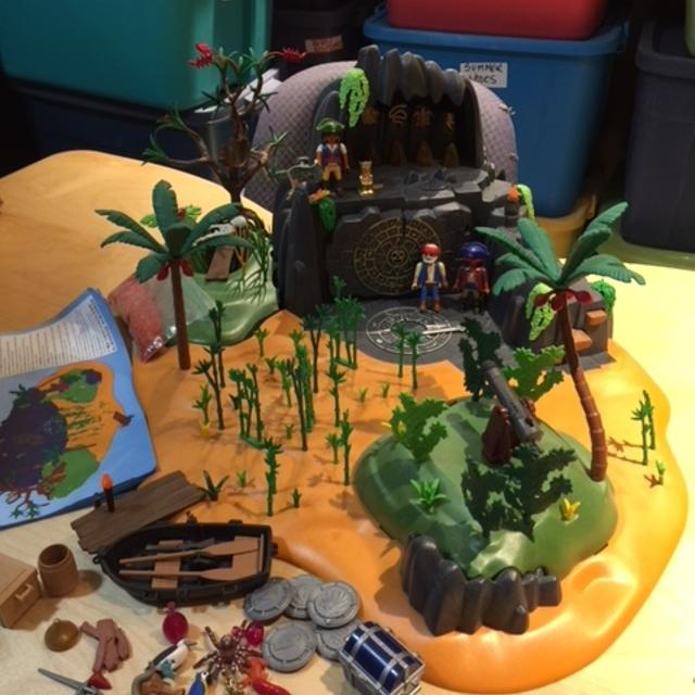 Find More Playmobil Pirate Pirates And Treasure Island Large Set