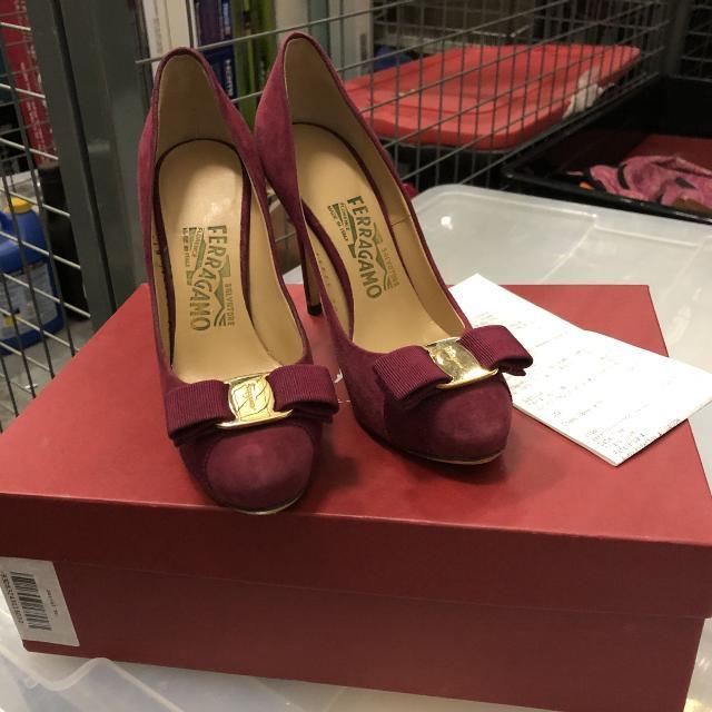 43602df298c Best Dark Red Ferragamo High Heels Brand New for sale in North York ...