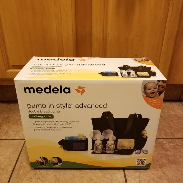Best Brand New Unopened Medela Pump In Style Advanced Double Electric Breast Pump On The Go Tote For Sale In Oakland California For 2020