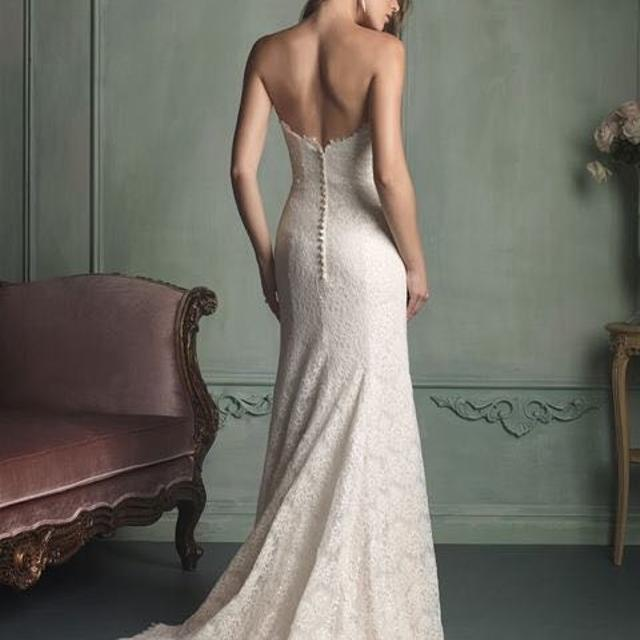 Find more Allure Fit & Flare Chantilly Lace Wedding Dress for sale ...