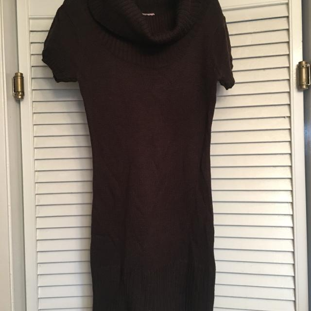 Best Womens Med Chocolate Brown Sweater Dress For Sale In Metairie
