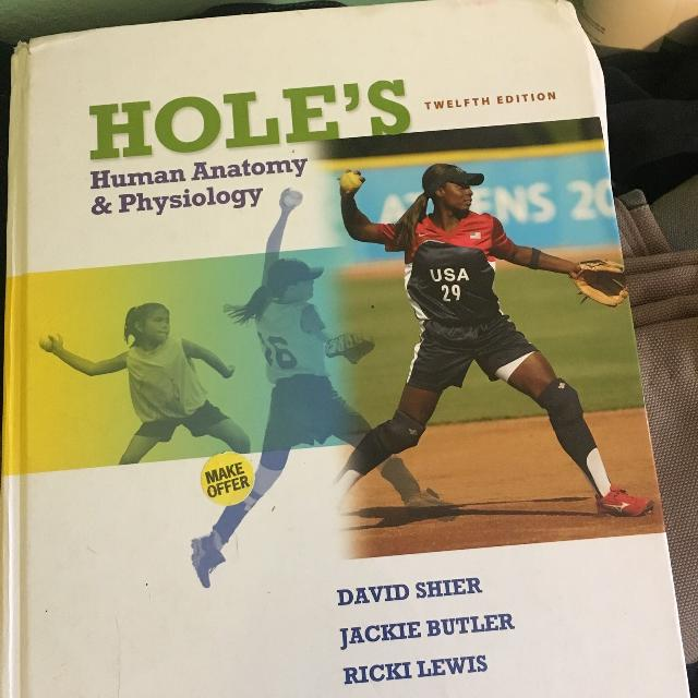 Holes anatomy and physiology book 12th edition
