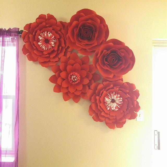 Best handmade large paper flowers for sale in mount forest ontario handmade large paper flowers mightylinksfo