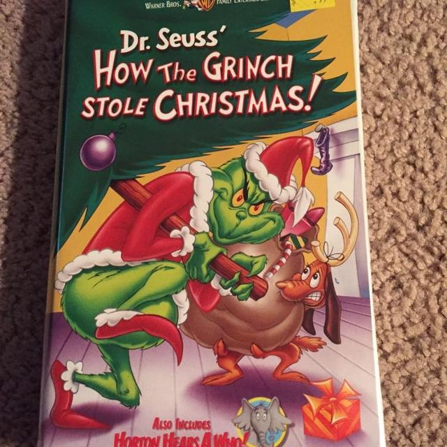 vhs dr seuss how the grinch stole christmas - How The Grinch Stole Christmas Vhs