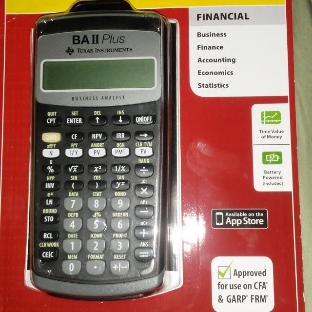 best ba ii plus calculator for sale in fuquay varina north carolina
