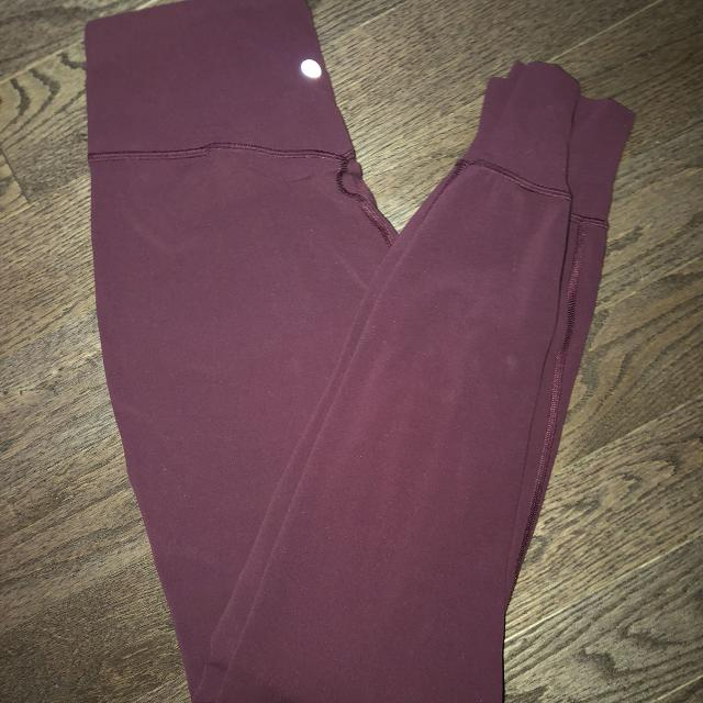 """385a82769 Find more Lululemon """"back In Action Jogger"""" Maroon  reduced  for ..."""
