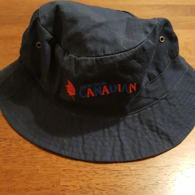 1e07a27e580 Find more Vintage throwback 90 s Molson Canadian Bucket Hat for sale ...