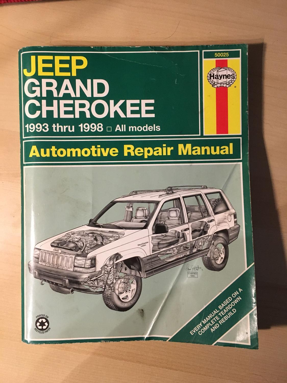 best 93-98 jeep grand cherokee haynes repair manual for sale in